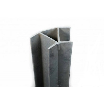 100PFC (C) Galvanized Channel 45 degree Corner (inc GST) From