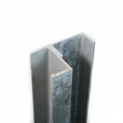 100PFC (C) Galvanized Channel 90 degree Corner (inc GST) From