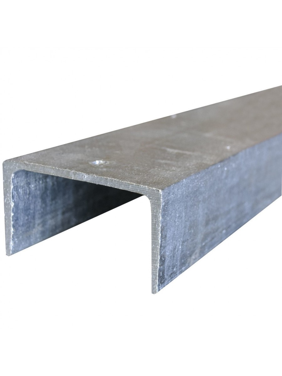 100PFC (C) Galvanized Channel (8.3Kg per L/M) (inc GST)  From